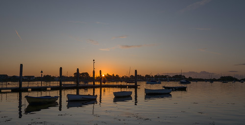 coastalsunrise southcoast hampshire emsworthharbour boats skys