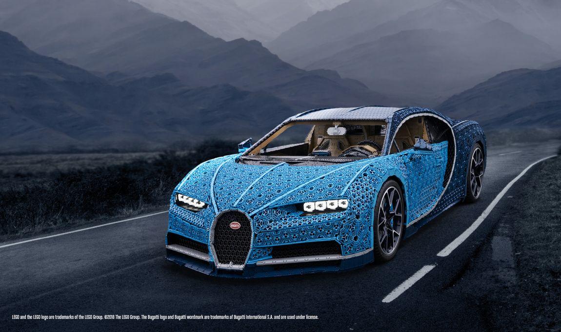 LEGO® TECHNIC Bugatti Chiron, replica unica la scara 1:1 a clasicului Bugatti Chiron, ajunge in Romania!