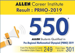 Allen PRMO Result 2019