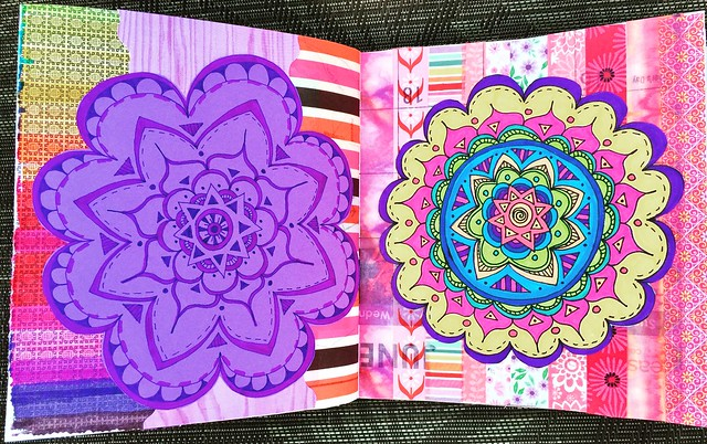 Big Mandalas Junk Journal Pages