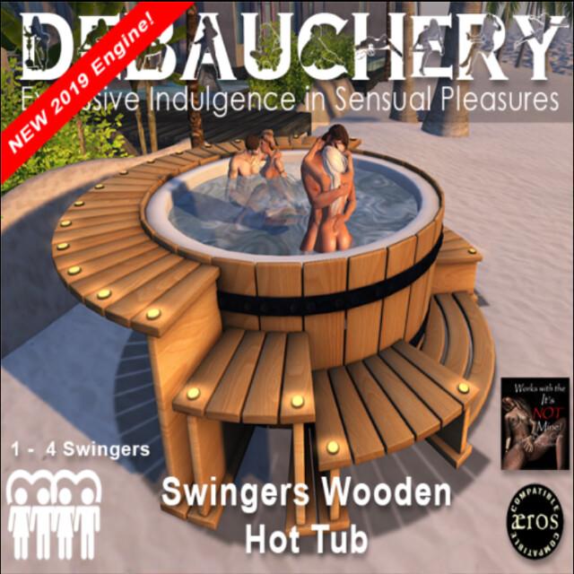 Debauchery Swingers Wooden Hot Tub 1 | The NEW Debauchery