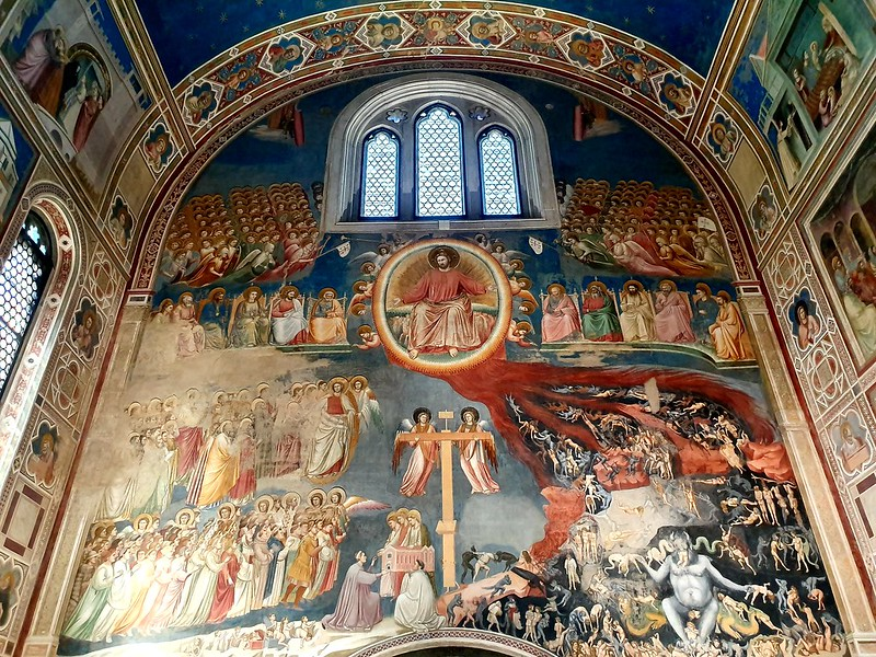 Scrovegni Chapel, Padua, with frescoes by Giotto, 1303-1305 (4)