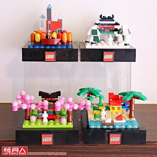 用春夏秋冬來妝點各個角落~~ 玩具反斗城限定【LEGO Bricktober 2019 四季】開箱報告&贈品時程公開!
