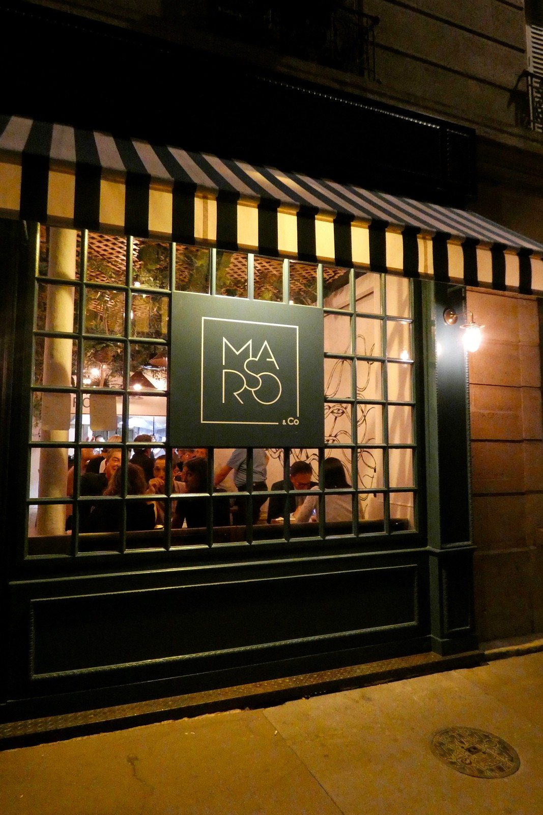 Restaurant Marso & Co, Paris