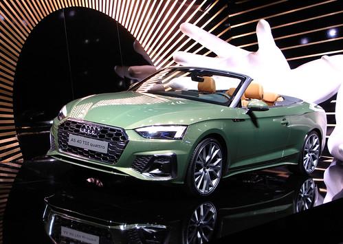 Audi A5 Cabriolet facelift Photo