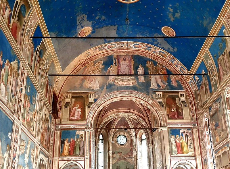 Scrovegni Chapel, Padua, with frescoes by Giotto, 1303-1305 (8)
