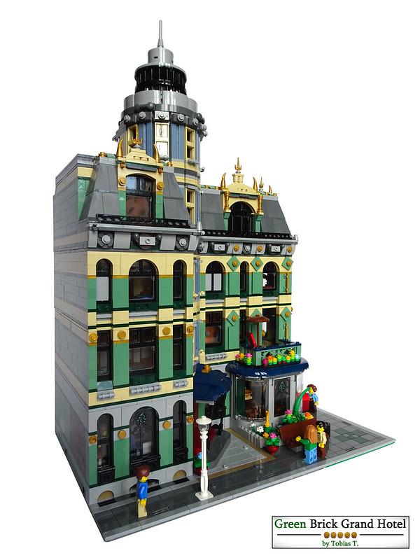 Green Brick Grand Hotel