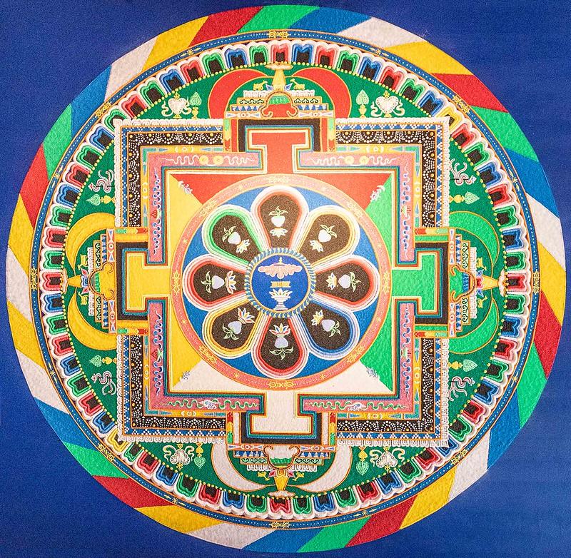 Fertiges Mandala