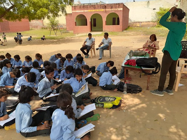 Compassionate Classrooms at Village Schools in Palwal