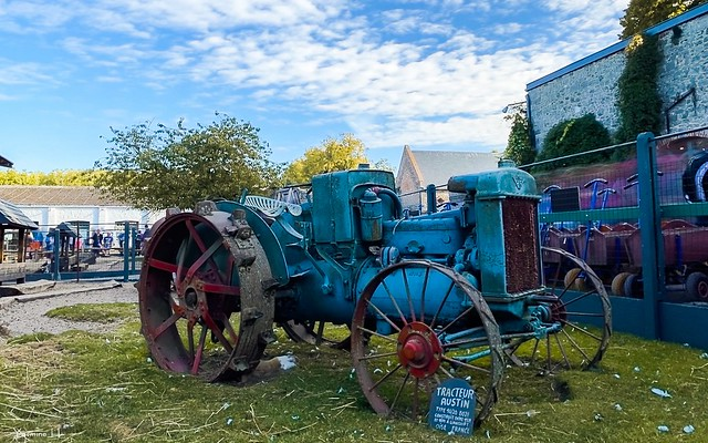 Tracteur VINTAGE - 7446