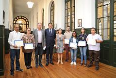 20/09/2019 - Deusto entrega a académicos latinoamericanos las becas BBVA otorgadas para realizar estudios de posgrado en Ética Aplicada