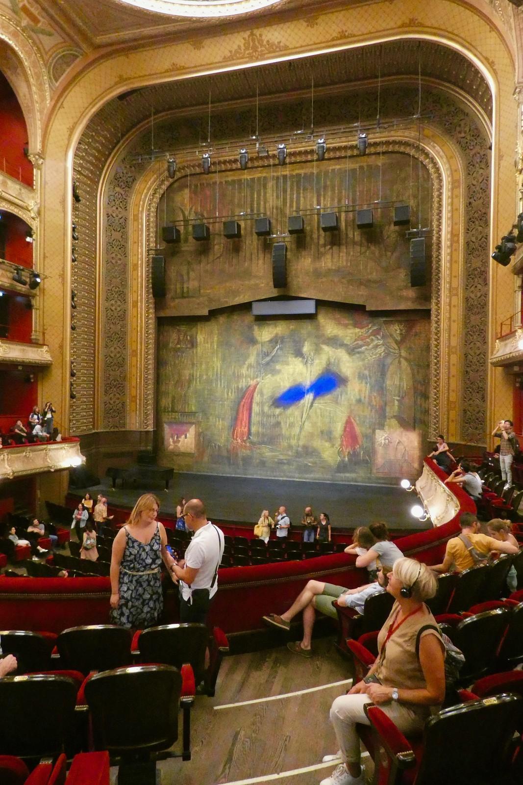 Nous visitons le Théâtre du Châtelet