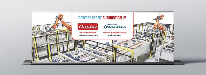 Hasko Trade Show Sign