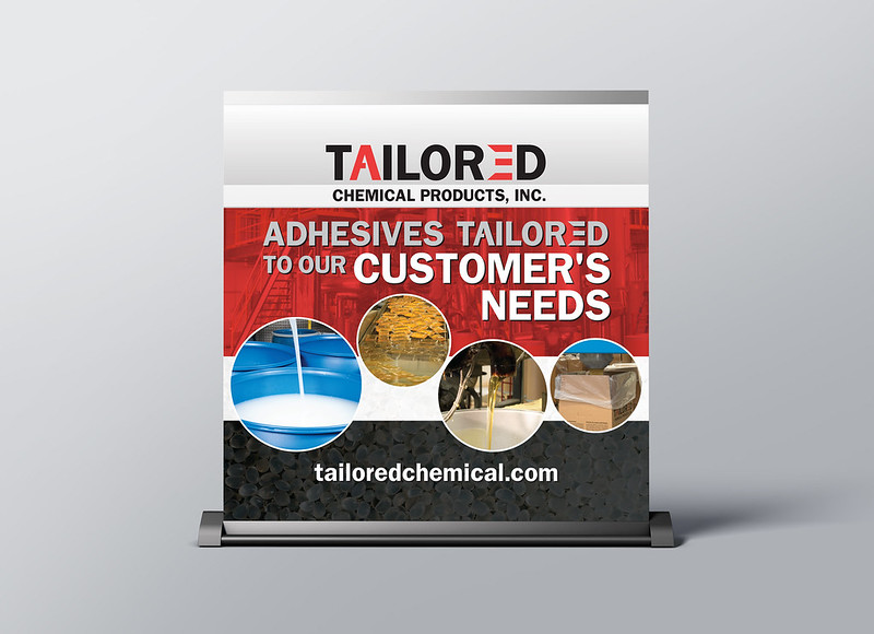 Tailored Chemical Trade Show Sign