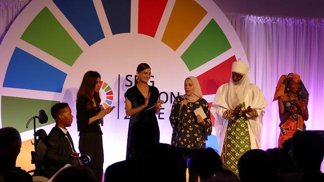76 - SDG Advocates-Edward Ndopu_Nadia Murad_Dia Mirza_Dr. Alaa Murabit_His Highness the Emir of Kano_Hindou Ibrahim_SDG Action Zone 2019