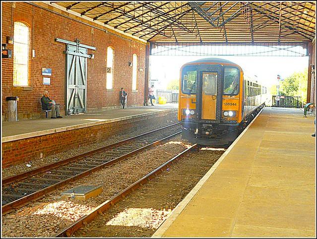 Filey Railway Station ...