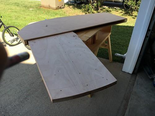 Centerboard mock up
