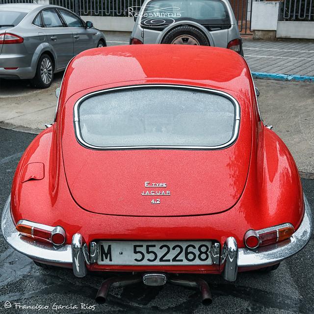 Jaguar E-Type 4.2 (1966) (IV) (vista trasera / Back View)