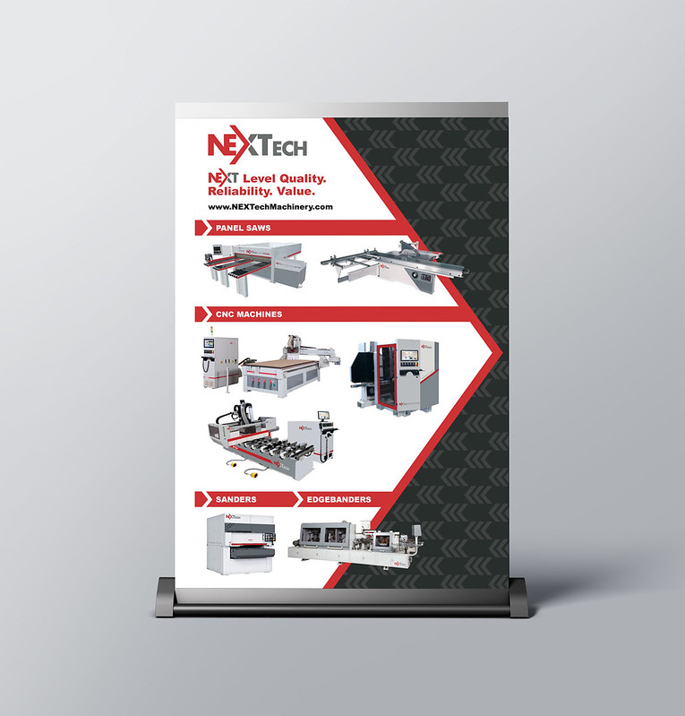 NEXTech Trade Show Sign