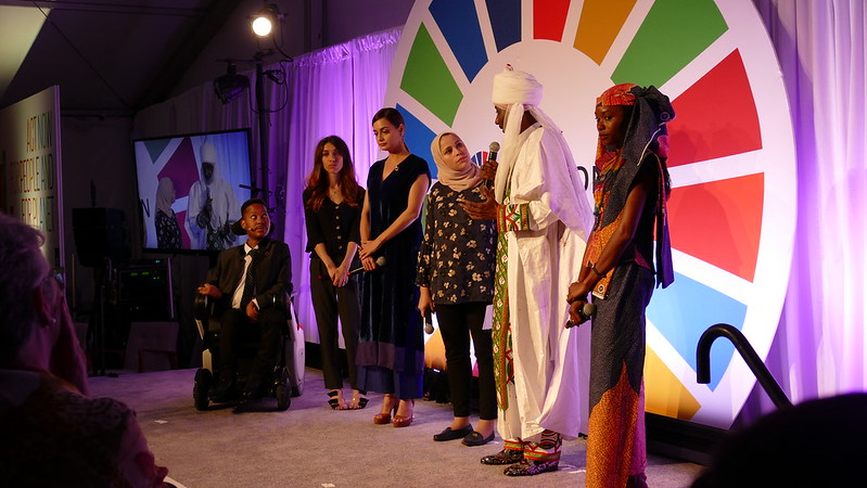 SDG Advocates Reception