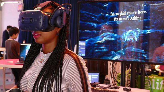 VR Exhibit Lost City of Mer Exhibit