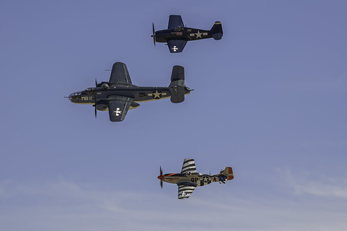 CAF Pacific Theater Formation Flight