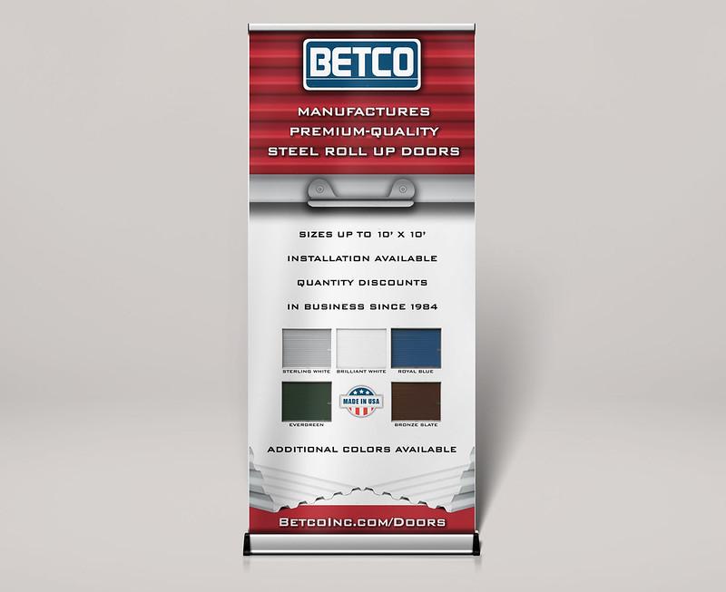 BETCO Trade Show Sign
