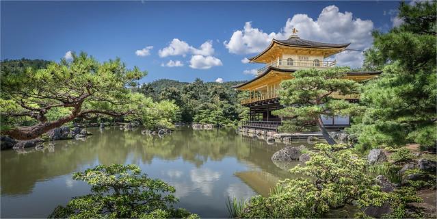 Kinkaku-ji. Temple of the Golden Pavilion. Kioto - Japan
