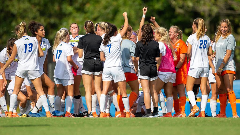 Women's soccer wins in double OT against Seton Hall