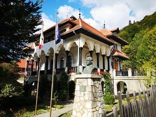 """Memorial house """"Cezar Petrescu"""" (Bușteni)"""