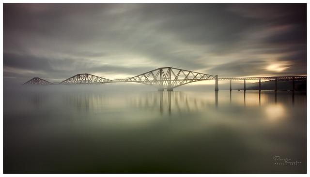 Forth Rail Bridge Fog