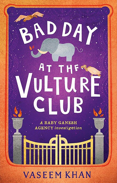 Vaseem Khan, Bad day at the Vulture Club