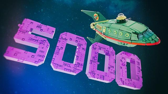 5K on LEGO® Ideas!