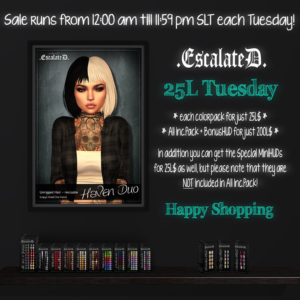 .EscalateD. | 25L$ Tuesday | 24.September.19