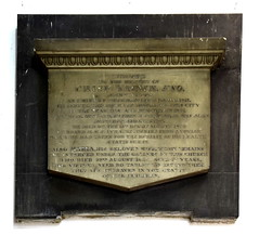 he died on the 19th day of August 1830 on board HMS Lyra returning from a voyage which he had taken for the benefit of his health