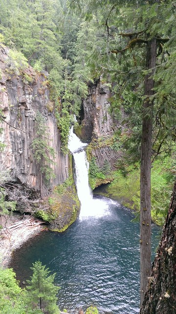 Toketee Falls, Toketee Falls Trail 5/22/2013