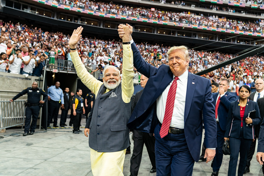 Howdy, Modi! | President Donald J. Trump holds hands with Pr… | Flickr