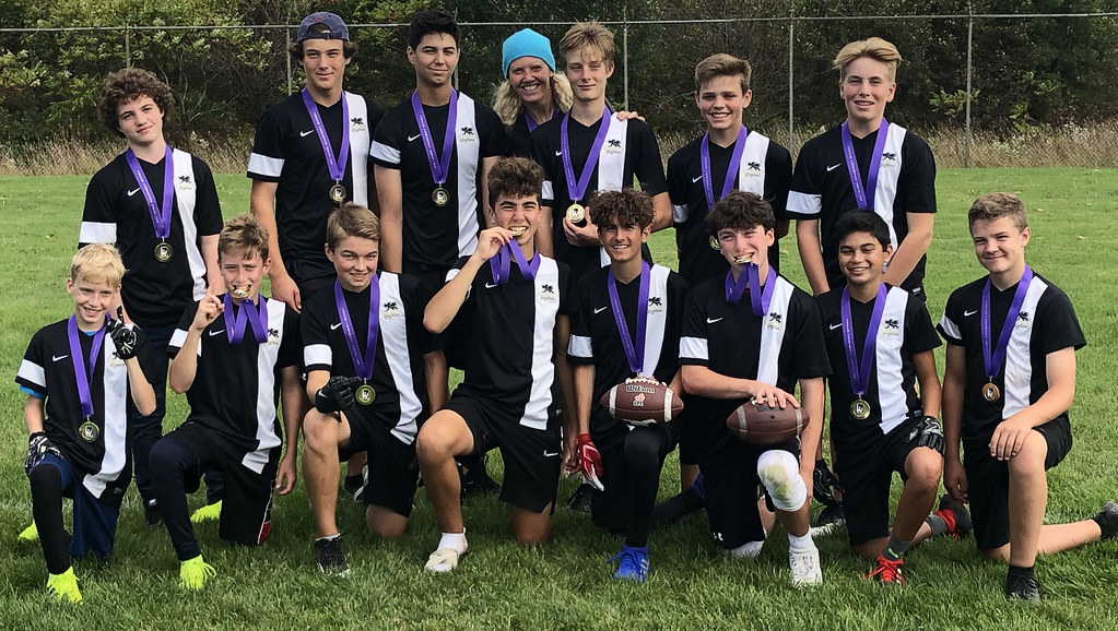 Grade 9 Boys Touch Football Champions: Dundas Valley Gryphons