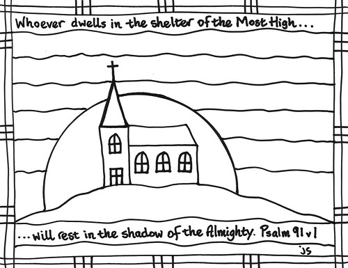 Psalm91 coloring