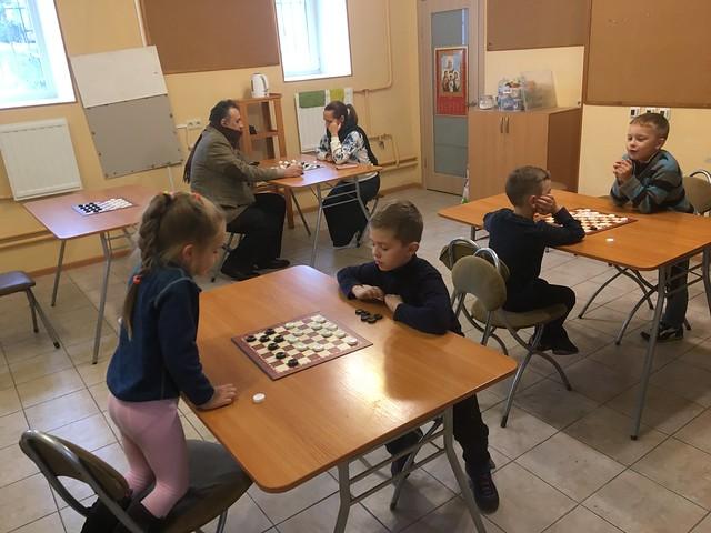Шашечный турнир 22.09.2019