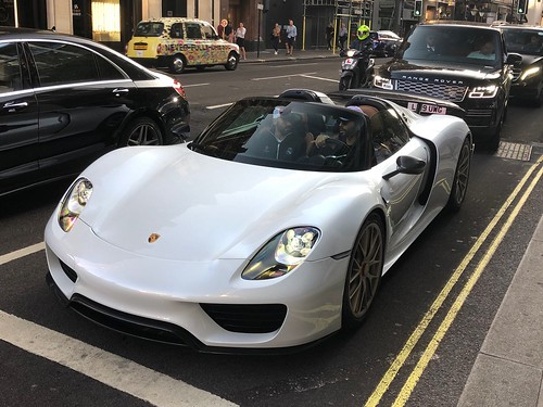 B14's stunning 918 Spyder in London