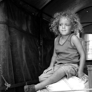 El niño de la carreta