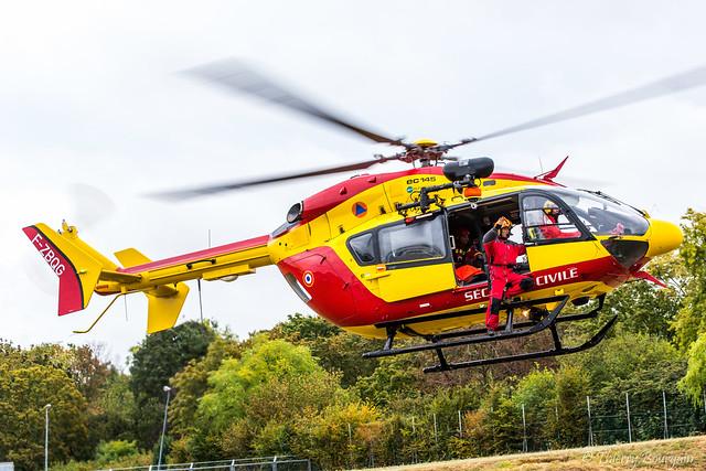 [LFPI]  Sécurité Civile Eurocopter EC-145 _ F-ZBQG