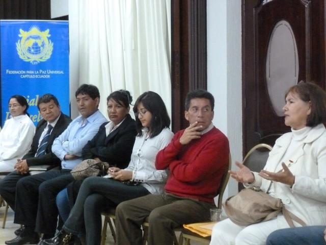 Ecuador-2016-02-04-World Interfaith Harmony Week Observed at a Program in Ecuador