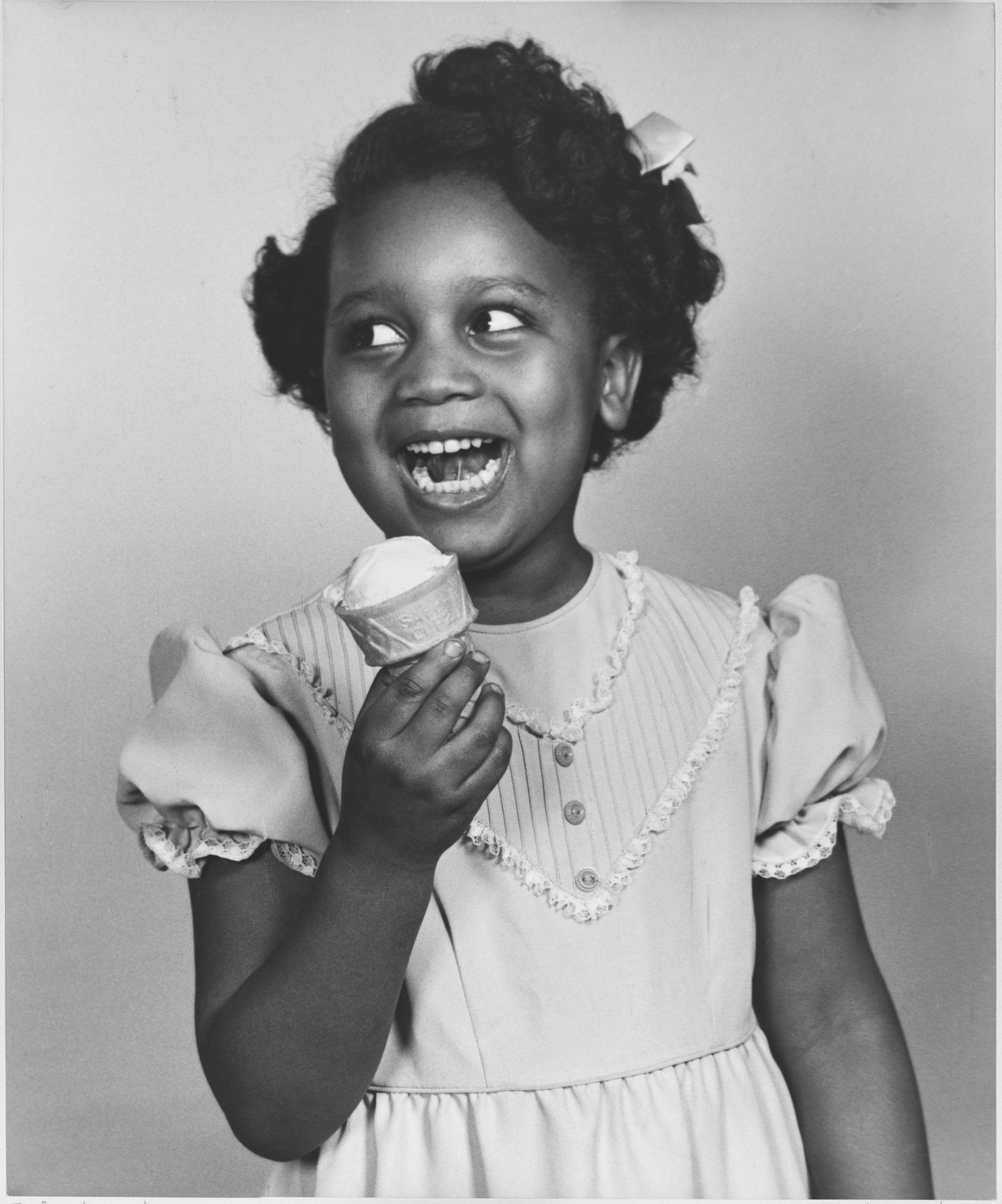 African American Portraits - Girl & Ice Cream