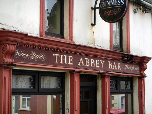 The Abbey Bar, a pub in Timoleague, Ireland