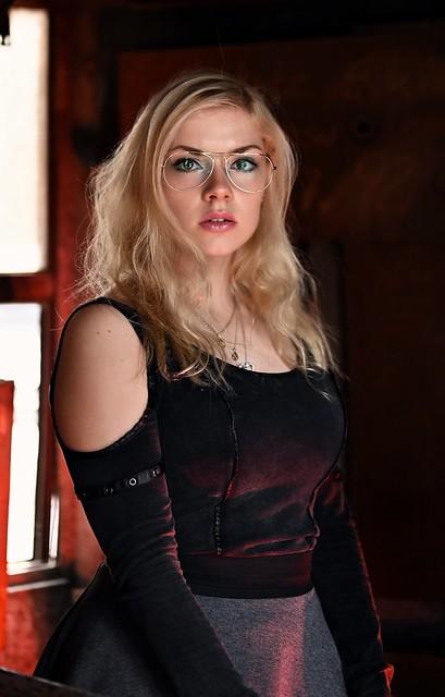 Sexy glasses.