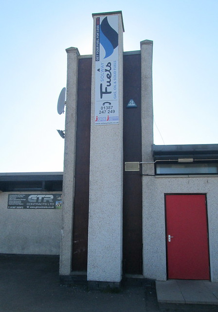 Dumfries Rugby Club Building Centre Tower