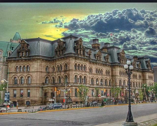 Ottawa Ontario ~ Canada ~ Langevin Block ~ Heritage Building