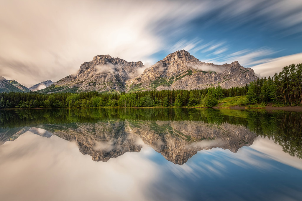Mount Kidd Reflections